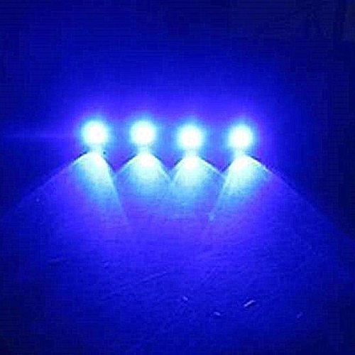 4x LED Boat Light Waterproof 12v Outrigger Spreader Transom Underwater Troll Swimming Pool Pond Fountain Light Fishing Light