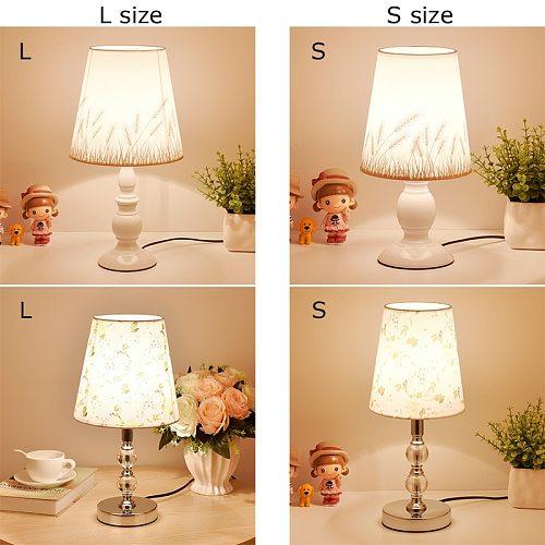 Crystal Table Lamp LED Bedside Lamp Modern Bed Lamp For Living Room Bedroom Desk Lamp Art Deco Nordic Night Light E27 EU Plug