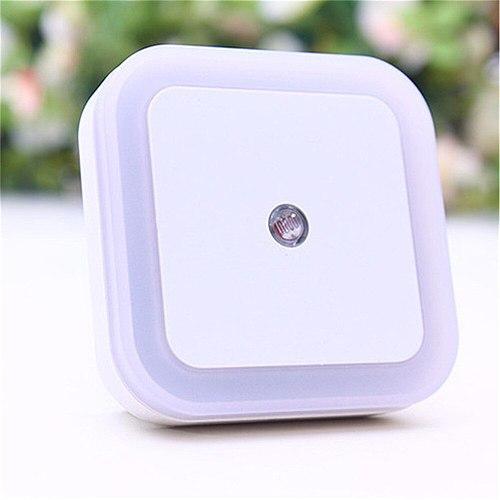 EU/ US Plug Light Sensor Control Night Light Mini  Novelty Square Bedroom lamp For Baby Gift Romantic Colorful Lights