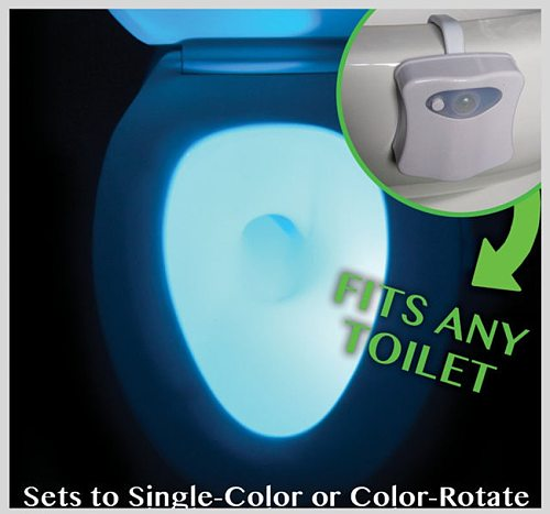 Body Sensing Automatic Led Motion Sensor Night Lamp Toilet Bowl Bathroom Light Waterproof Backlight For Wc Toilet Light