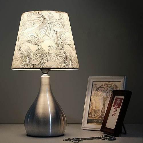 Modern Bedside Lamps LED Desk Lamp with E27 Bulb Table Lamps For Bedroom Study Decor Living Room Lighting White Light 110V-240V