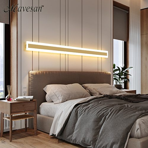New Design LED Wall Lamp lampada Bedroom Wall Side Home Interior Decoration Lighting Corridor Wall Lamp AC90-260V