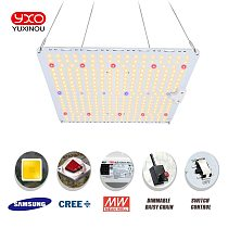 1200W Samsung LM301H Plant Grow Lamp For Indoor LED Full Spectrum Grow Light Tent Dimmable Quantum Tech LED Board fitolampy