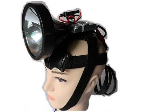 Headlamp HID 55W 100W 220W hunt Xenon Simple installation headlamp Xenon 100w Super bright searchlight outdoor flashlight 220w