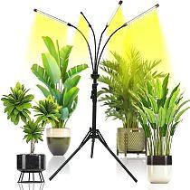4 Head Sunlike Full Spectrum Phytolamps DC5V USB LED Grow Light 40W Flexible Clip Phyto Lamp for Plants Flowers Grow Box