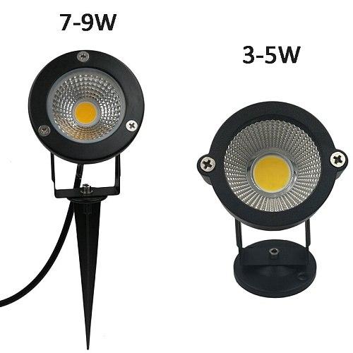4PCS 9W Outdoor LED Garden Lamp LED Garden Landscape Light AC220V110V 12V Waterproof Lighting Led Light Garden Path Spotlights