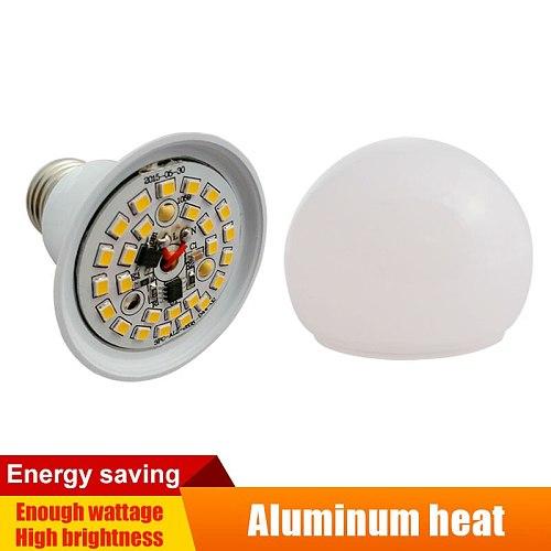 E27 LED Lamps AC/DC 12v to 85v Lighting Domestic LED Globe Cool White Light Aluminum Board SMD 2835 3w/5w/7w/9w/12w/15w