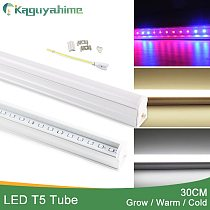 Kaguyahime LED T5 Tube UV Grow Lights 30cm 220V Integrated Plant Growth Hydroponic Phyto Grow Lamp Full Spectrum/Warm/Cold White