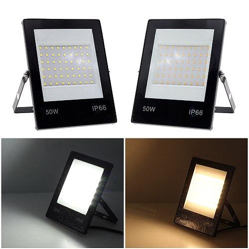LED Sportlight 220V 10W 20W 30W 50W 100W 150W Ultral Thin Outdoor Floodlight IP66 Waterproof  for Garden Yard Street