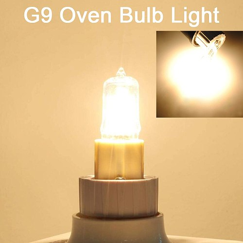 10PCS G9 Halogen Light Bulbs 230-240V 25W/ 40W Frosted / Transparent Capsule Case LED Lamps Lighting Warm White for Home kitchen