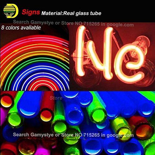 Neon Sign For YOU ARE A PINK STARBURST Glass Tubes Lamp Beer Home Lamp resterant light advertise custom DESIGN Handmade light