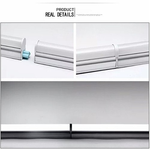 1PCS 2PCS Plastic 10W 6W LED Tube T5 T8 Light  220V 60cm 30cm led T5 T8 lamp led wall lamp Warm Cold White led fluorescent  neon