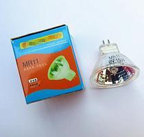 1pcs MR11 6V Microscope bulb 6V MR11 spotlight halogen bulb MR11 6v 5w 10w 15w 20W 25w 30w instrument bulb