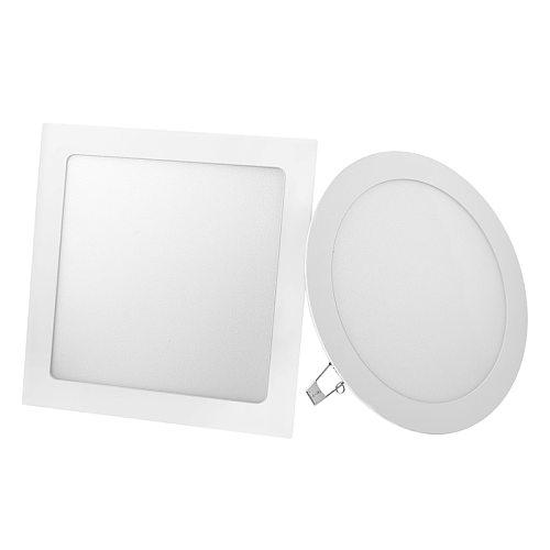 LED Panel Light 3W 4W 6W 9W 12W 15W 18W Round Square LED Spot light AC85~265V ceiling light Indoor Recessed Downlight