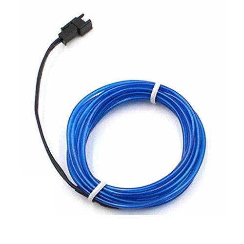 1-10M EL Wire Neon Light Dance Party Decor Novelty Light Neon LED lamp Flexible Rope Tube Waterproof LED Strip String light