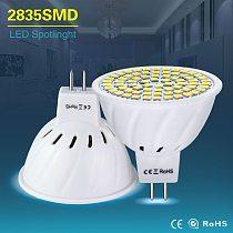Spotlight Led MR16 LED Lamp AC 220V 4W 6W 8W Led Bulb Lights AC/DC 12V 24V GU5.3 Mr 16 SMD 2835 White/Warm White Home Lighting