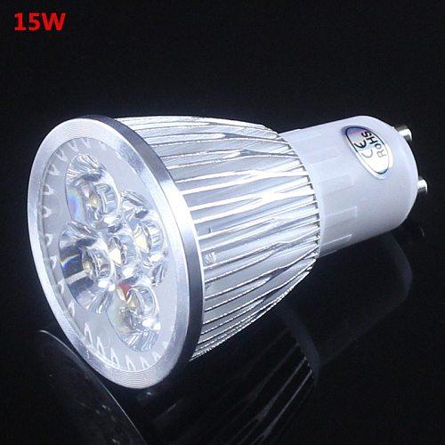 GU 10 LED Spotlight Dimmable GU10 LED Lamp 9W 12W 15W 110V 220V Red green blue Lampada LED Bulbs light Spot Candle Luz
