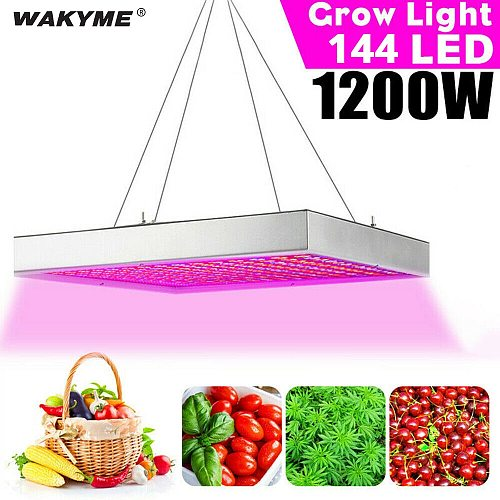 WAKYME 1200W LED Grow Light Full Spectrum LED Plant Light Fitolampy for Indoor Plants Seed Flowers Seedling Cultivation Lamp