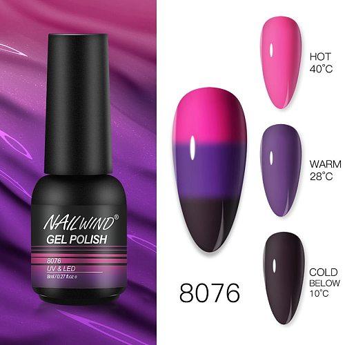 NAILWIND Gel Polish UV LED Lamp Nail Gel Varnishes painting hybrid Manicute Set for nail art Need base top coat nail stickers