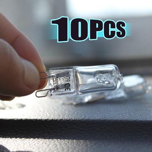 10Pcs Oven Light Bulb G9 High Temperature Bulb Steamer Light 25w 28w 40w 60w