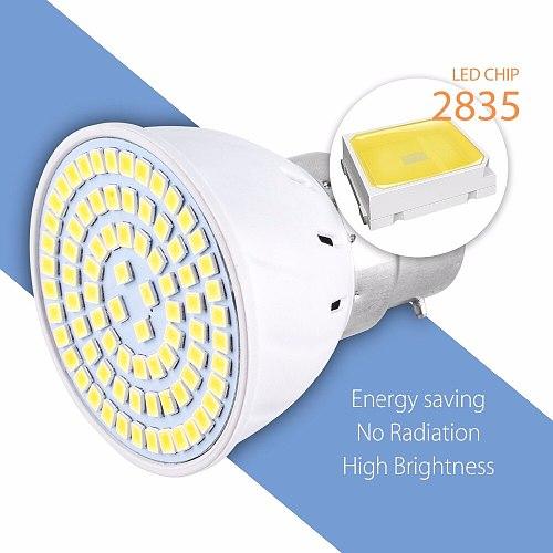 220V LED Lamp E27 Corn Light E14 Ampoule Led GU10 Spot Light 2835 SMD 48 60 80leds Spotlight Bulb MR16 Focos Bulb for Ceiling