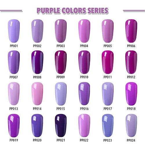 Elite99 UV Gel Nail Polish LED Lamp 10ML Nail Polish Purple Nail Gel Polish Vernis Semi Permanent Gel Nail Varnishes gel lacquer