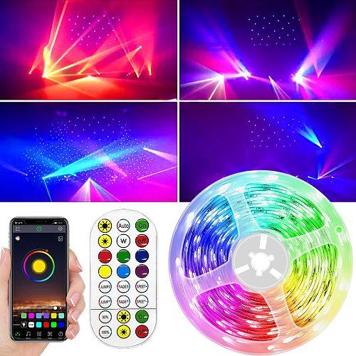 5M 10M 15M RGB LED Light Strip RGB Tape Waterproof  Diode Neon Ribbon Flexible For Decoration