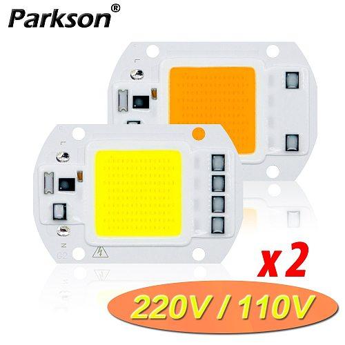 COB LED Lamp CHIP 220V 110V LED Bulb 10W 20W 30W 50W IP65 Smart IC DIY Flood light Bulb Spotlight Floodlight Outdoor Lighting