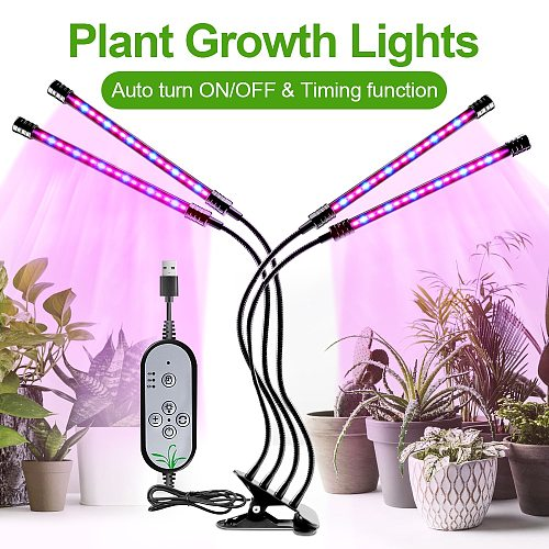 Led Grow Light USB Phyto Grow Tent Lamp Full Spectrum Fitolampy for Indoor Plants Seedlings Flower Indoor Fitolamp Grow Box