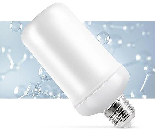 2021 New LED Dynamic Flame Effect Fire Light Bulb E27 B22 E14 LED Corn Bulb Creative Flickering Emulation 5W 12W LED Lamp Light