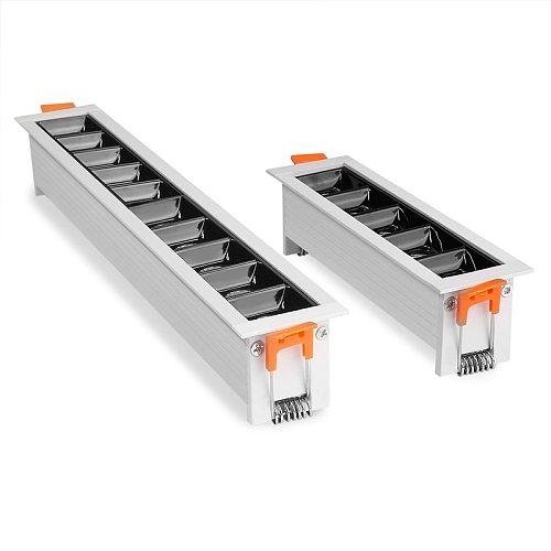 Embedded Creative LED Downlight 4W 10W 20W 30W Line Recessed Ceiling Lamp 110V 220V Bedroom Kitchen Indoor LED Spot Lighting