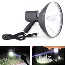 9 inch Portable Handheld HID Xenon Lamp 1000W 245mm Outdoor Camping Hunting Fishing Spot Light Spotlight Brightness 100000 LM