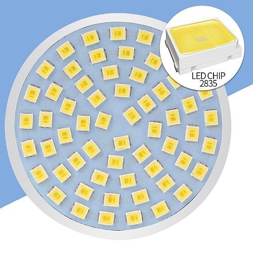 E27 LED Lamp GU10 Spotlight Bulb E14 Lampada 48 60 80leds lampara GU 10 Bombillas Led 220V MR16 gu5.3 Spot Light B22 3W 5W 7W