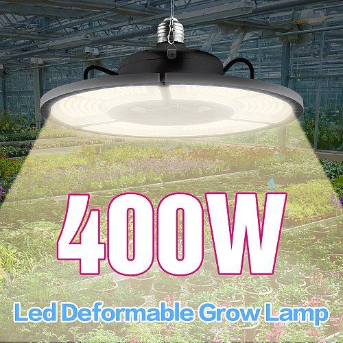 Plant Lamp LED Full Spectrum Grow Light White E27 100W 200W 300W 400W LED Growing Box Light E26 Hydroponic LED Bulb Phyto Lamp