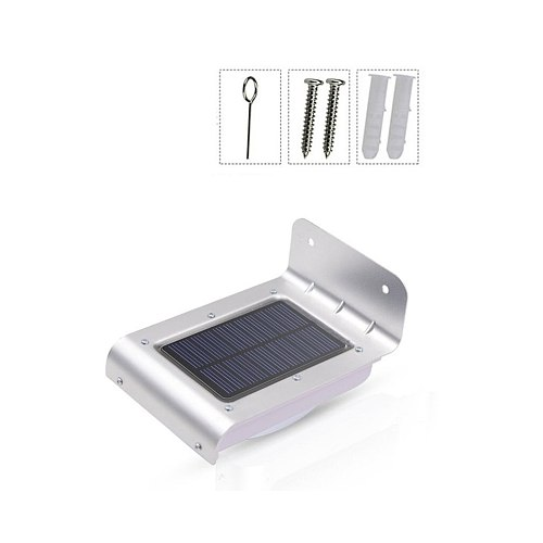 New Weatherproof Energy-saving 16 LED Solar Power Energy PIR Infrared Motion Sensor Garden Security Lamp Outdoor Light