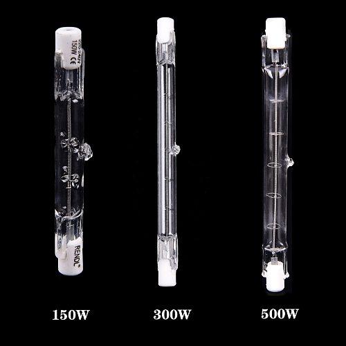 JETTING 150W 300W 500W Halogen Lamp 78MM Double Ended Linear R7s Halogen Light Bulb AC220-240V Household Decor R7s Halogen Bulb