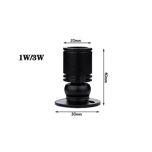 3W led recessed cabinet mini spot light 110V 220V downlight 12V 24V DC jewelry show Include Led Driver 4000K Ceiling light lamp