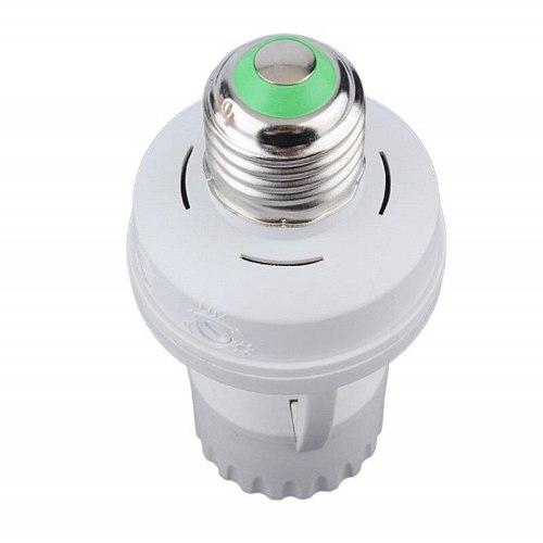 Smart 110V-240V 60W PIR Induction Infrared Motion Sensor E27 LED lamp Base Holder With light Control Switch Bulb Socket Adapter