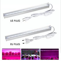 LED Grow Light Full Spectrum Tube Growing Lamp Strip Light For Hydroponic Indoor Plant