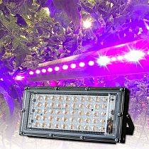 50W LED Grow Light Full Spectrum 220V Phytolamp Full Range LED Lamp For Plants SMD 2835 Growth Flower Bulb Indoor Garden IP65