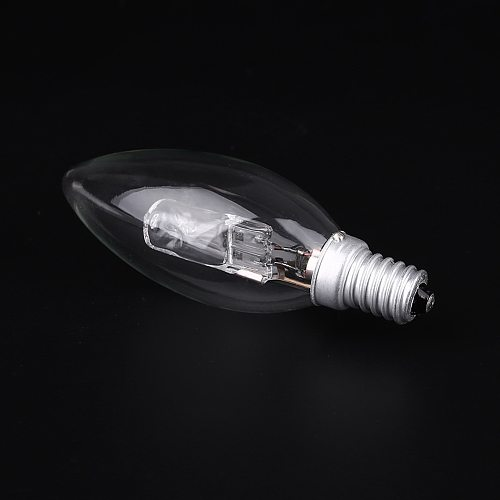 E14 AC 220v-240v Halogen Lamp Bulb Candle Shape  28W Lighting Fixture Household Supplies