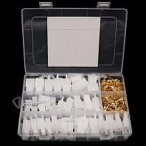 Automotive Electrical Wire Connector Male Female Cable Terminal Plug Kits 380 Pcs 2.8mm 2 3 4 6 PIN