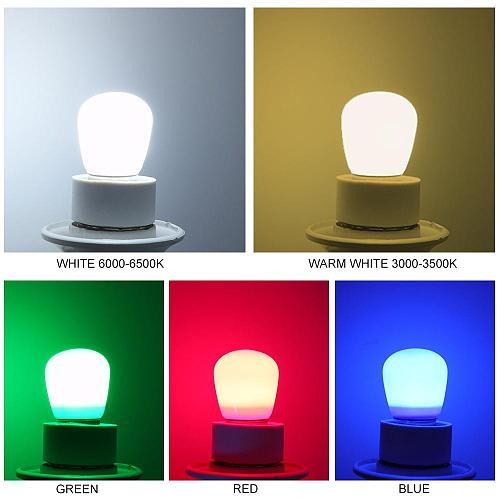 LumiParty E14 LED Light Bulb 3W 220V Mini Refrigerator Lamp for Home Decoration White / Warm white / Red / Blue / Green