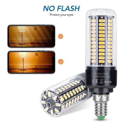 E27 LED Light E14 AC85-265V Corn Bulb lamp led Bombillas 28 40 72 108 132 156 189leds Energy saving lights Lampada More Bright