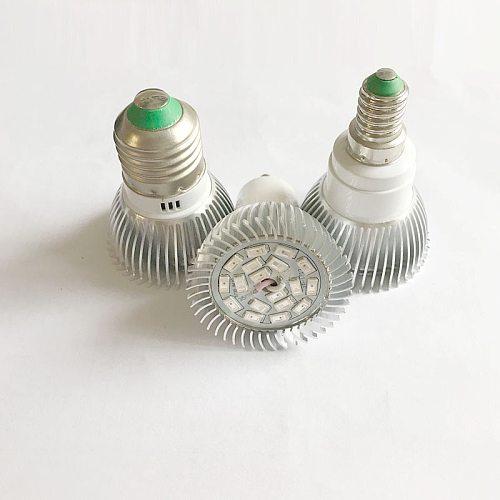 Phyto Led E27 Hydroponic Growth Light E14 Led Grow Bulb Full Spectrum 110V 220V Lamp Plant  Flower Seedling Fitolamp GU10