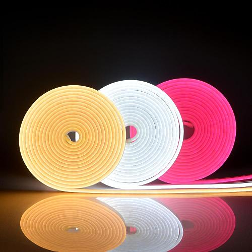 neon lights for rooms decoration DC 12V LED Soft neon tube light bendable for DIY Letters Waterproof neon lamp