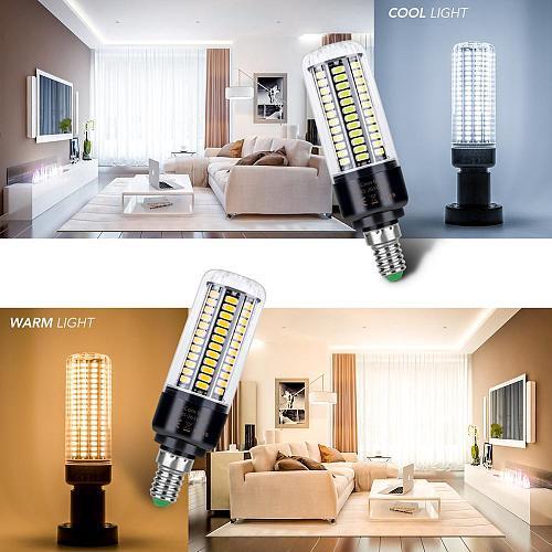 E27 Corn Bulb 3.5W 5W 7W 9W 12W 15W 20W Bombillas E14 LED Lamp 110V B22 LED Bulb 220V Candle LED Light No Flicker Lampara 5736