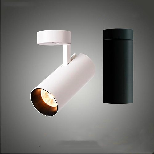 Spotlight Led Surface Mounted nordic style 7W  360° rotating ceiling ceiling installation family store ceiling lights