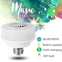 E27 LED Wireless Bluetooth Bulb Light Speaker RGB Phone Music Control Play Lamp