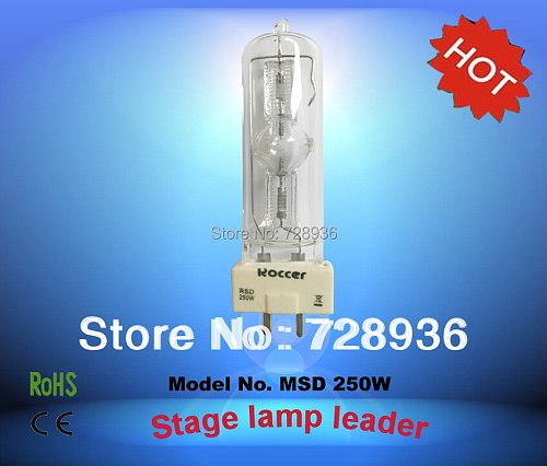 ROCCER MSD250W/2 GY9.5 for metal halide lamp 250W 2 msd 250 msd250/2